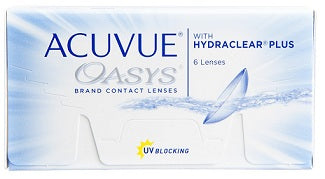Acuvue Oasys with HYDRACLEAR Plus - Rossetti Optique