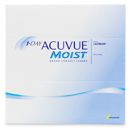 Acuvue 1-Day Acuvue Moist (90 pack) - Drizik Eyecare