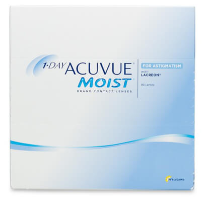 Acuvue 1-Day Acuvue Moist for Astigmatism (90 pack) - Drizik Eyecare