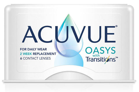 Acuvue Oasys with Transitions - Drizik Eyecare