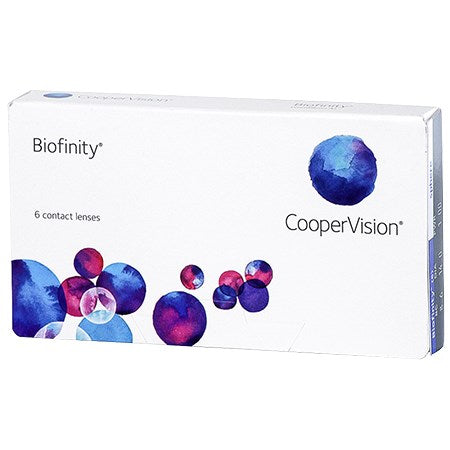 Biofinity Contact Lenses by Cooper Vision - Rossetti Optique