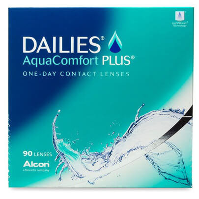 Alcon Dailies AquaComfort Plus (90 pack) - Drizik Eyecare
