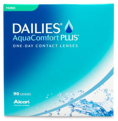 Alcon Dailies AquaComfort Plus Toric (90 pack) - Drizik Eyecare