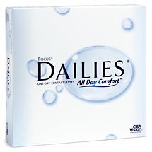 Focus Focus DAILIES 90pk Contact Lenses - rossetti-glasses