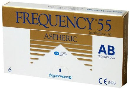 Frequency 55 Aspheric 6pk Contact Lenses - Drizik Eyecare
