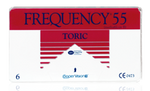 Frequency 55 Toric 6pk Contact Lenses - Drizik Eyecare
