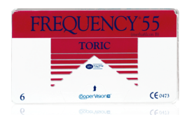 Frequency 55 Toric 6pk Contact Lenses - Rossetti Optique