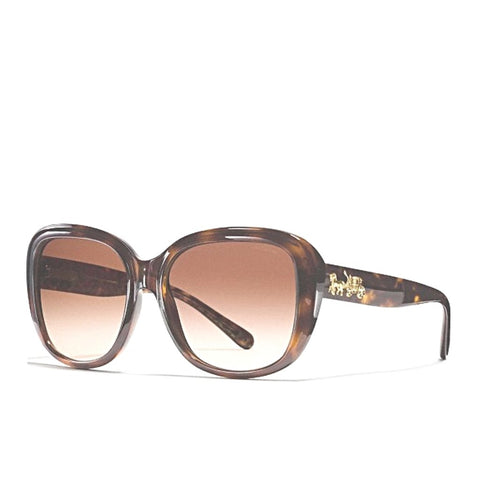 Coach Horse And Carriage Soft Square Sunglasses - Drizik Eyecare