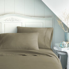 Taupe 4-Piece Essential Sheet Set