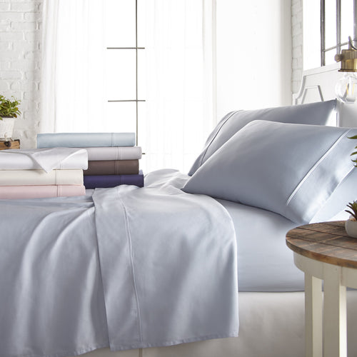 Sheets, 4-Piece 800 Thread Count Cotton-Rich Sheet Set, Linens And Hutch