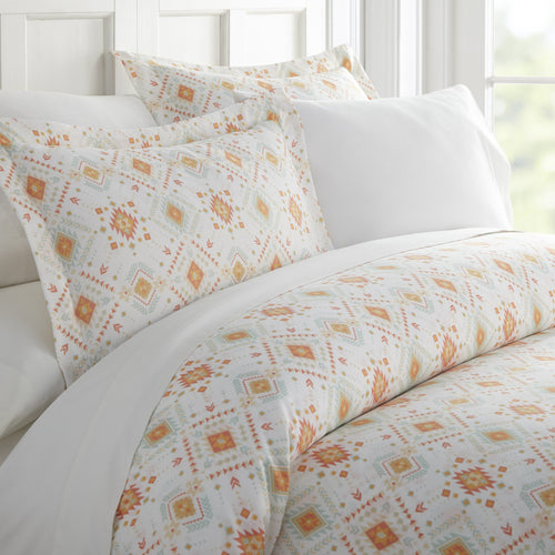 Comforters, Aztec Dreams Patterned 3-Piece Duvet Cover Set, Linens And Hutch