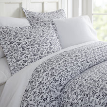 Burst of Vines Patterned 3-Piece Duvet Cover Set - Comforters - Linens and Hutch