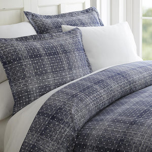 Polkadot Patterned 3-Piece Duvet Cover Set - Comforter - Linens and Hutch