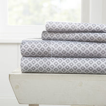 Sheets, Polaris Patterned 4-Piece Sheet Set, Linens And Hutch