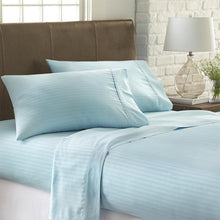 4-Piece Striped Sheet Set - Sheets - Linens and Hutch