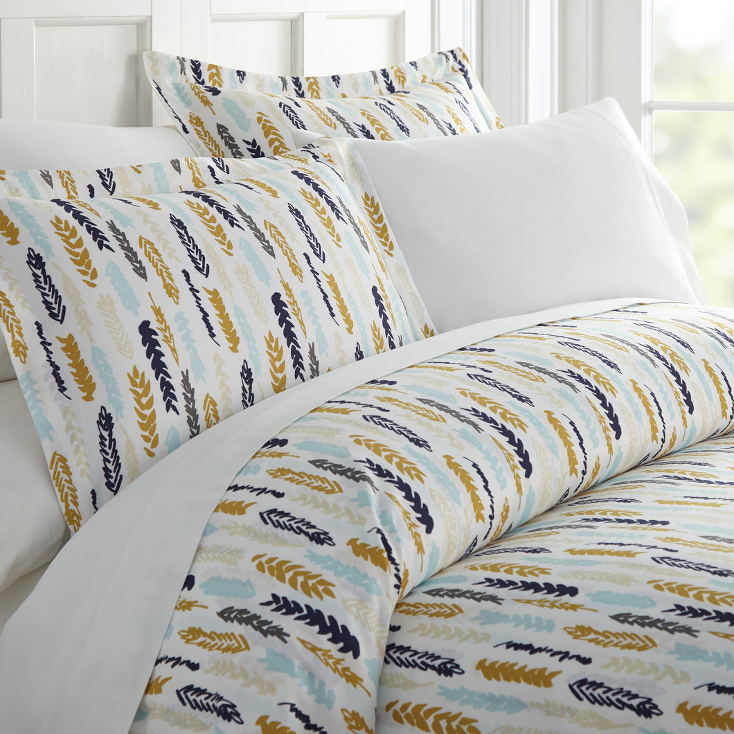 Comforters, Wings Patterned 3-Piece Duvet Cover Set, Linens And Hutch