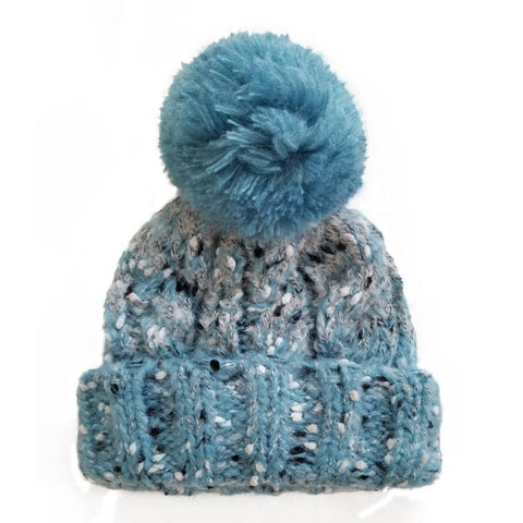 Ocean Tweed Beanie Hat - Beanie Hats