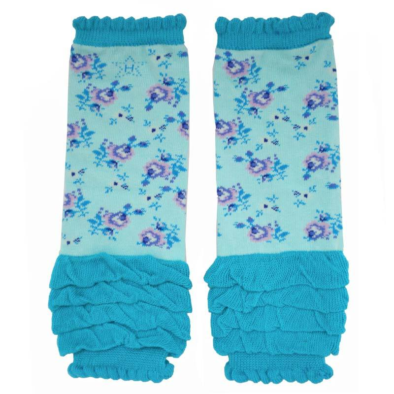 Paradise Rose Legwarmers - Baby size only