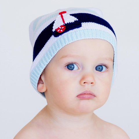 Boating Beanie Hat-Huggalugs