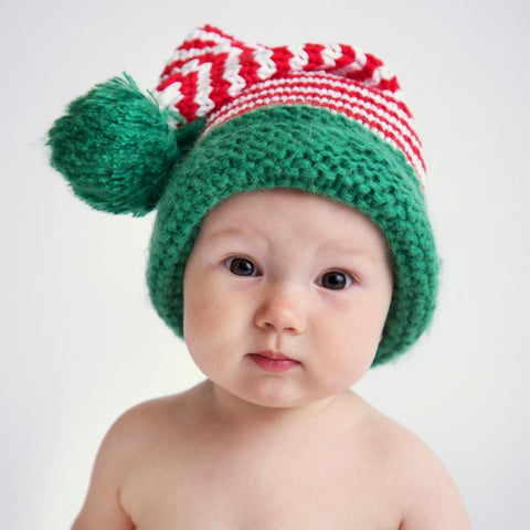 Candy Cane Stocking Hat - Huggalugs-Beanie Hats