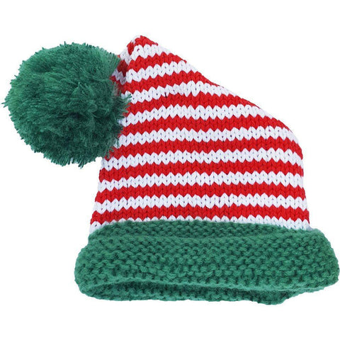 Candy Cane Stocking Hat-Huggalugs