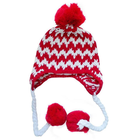 Cheer Chevron Beanie Hat - Beanie Hats
