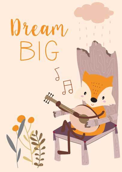 Dream Big E-Giftcard - Huggalugs-