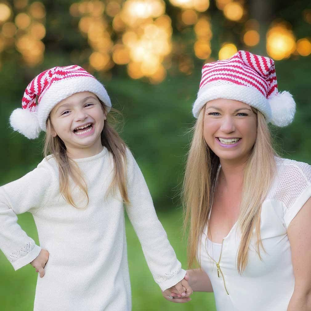 Elf Striped Stocking Hat - Xl (Tweens & Adults) - Beanie Hats