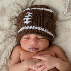 Newborn Football Beanie Hat
