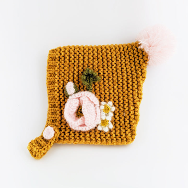 Gold Poppy Bonnet