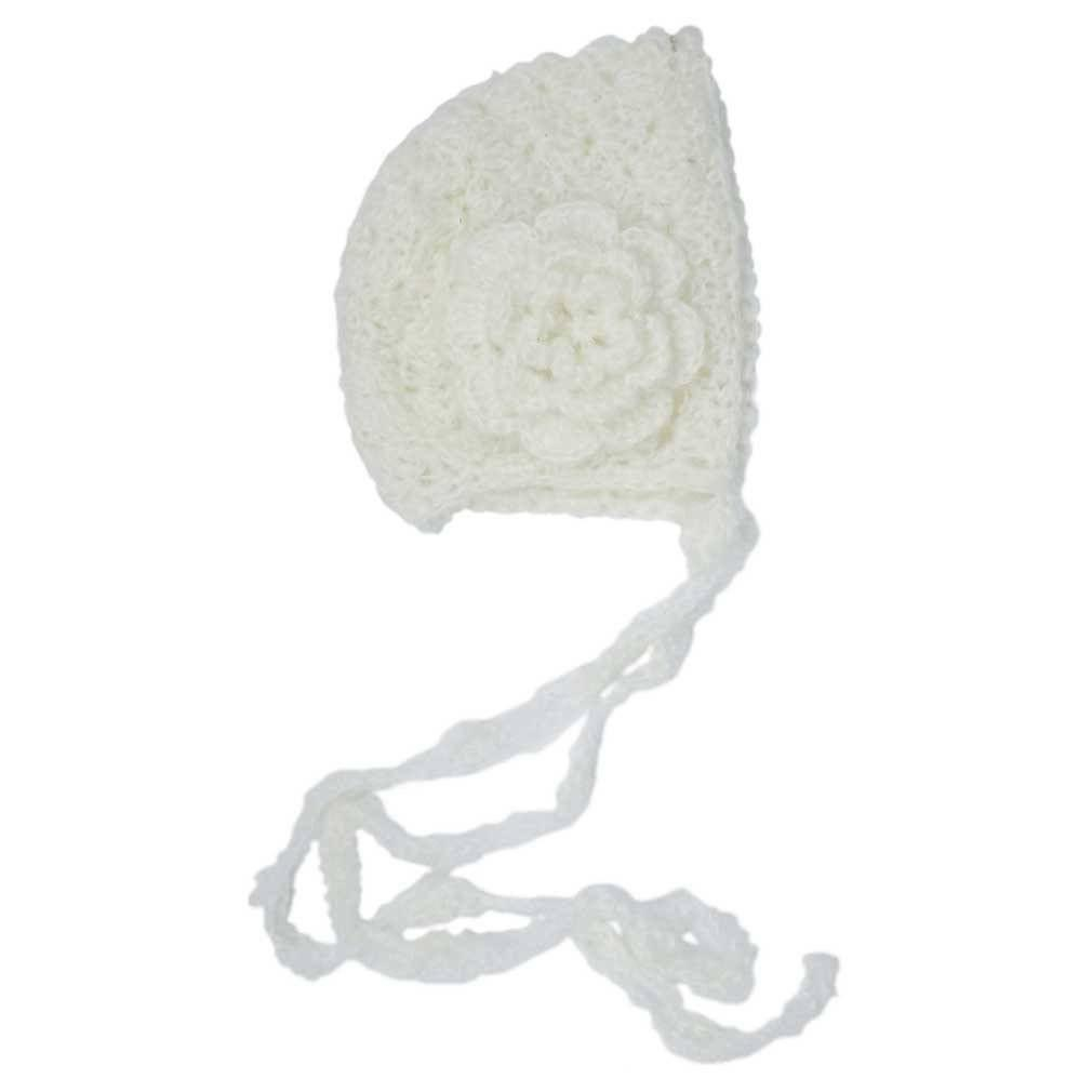 Gossamer Lace Cream Bonnet - Beanie Hats