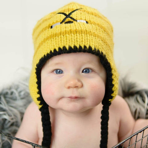 f123aaebffe Knitted Baby Beanie Hats for Infant to Toddler Boys   Girls