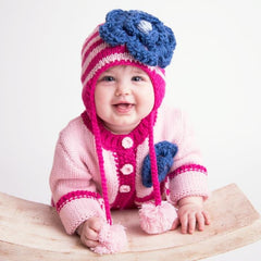 Kissy Pink Ziggy Sweater - Huggalugs-Sweaters