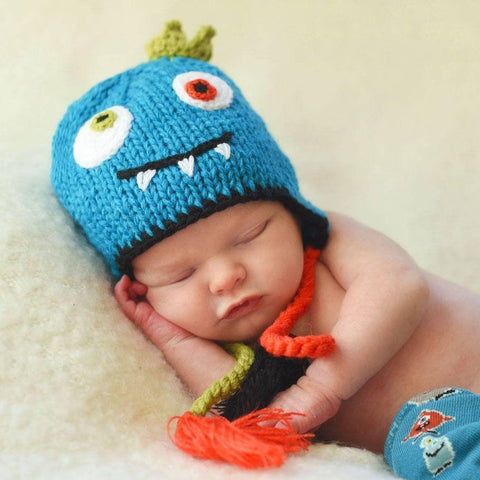 7ec8f4907067c Knitted Baby Beanie Hats for Infant to Toddler Boys   Girls