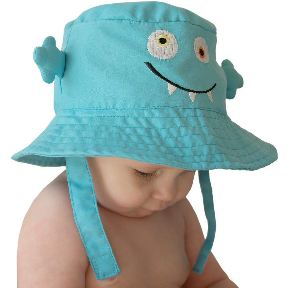 Monster UPF 50+ Bucket Hat - Huggalugs-Sunhat