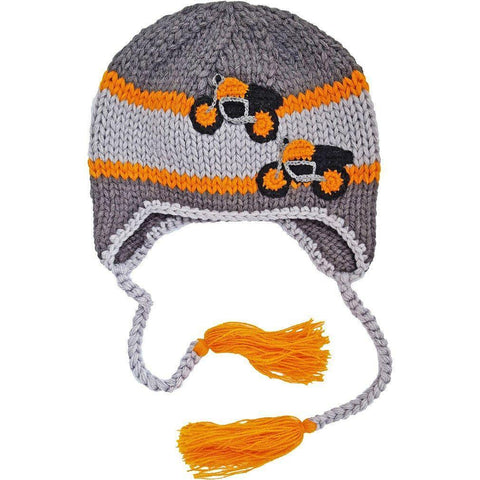 Motorcycles Earflap Beanie Hat - Beanie Hats
