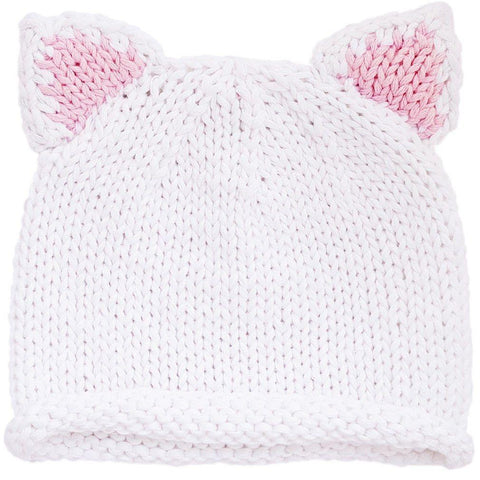 Newborn Kitty Beanie Hat - Huggalugs-Newborn Knits