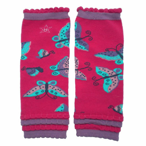 Papillon Butterfly Legwarmers - Baby Size - Huggalugs-Legwarmers
