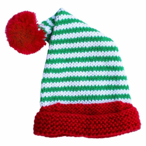 Peppermint Twist Stocking Hat-Huggalugs