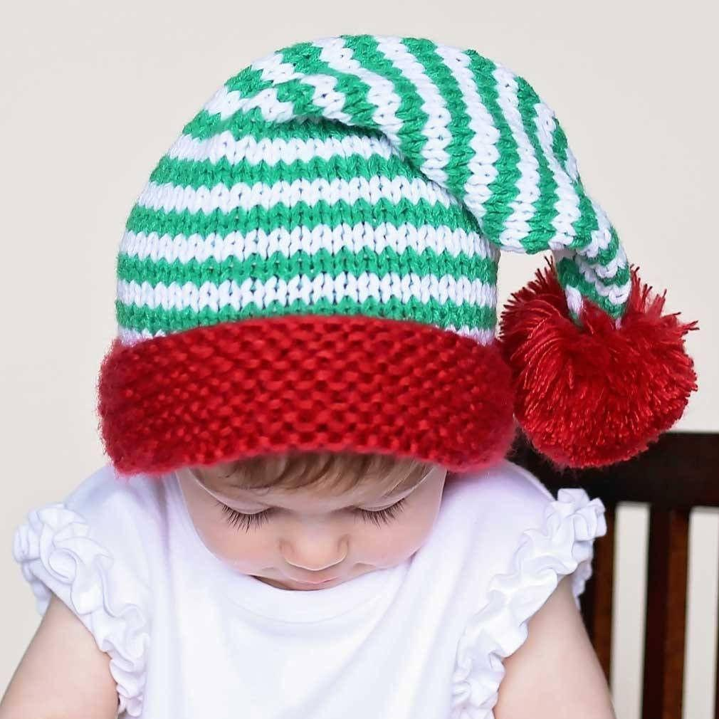Peppermint Twist Stocking Hat - Beanie Hats