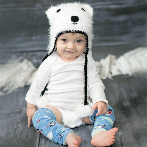 Polar Bear Beanie Hat - Beanie Hats