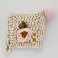 Natural Poppy Bonnet-Huggalugs