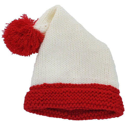 Santa Cream Stocking Hat - Huggalugs-Beanie Hats