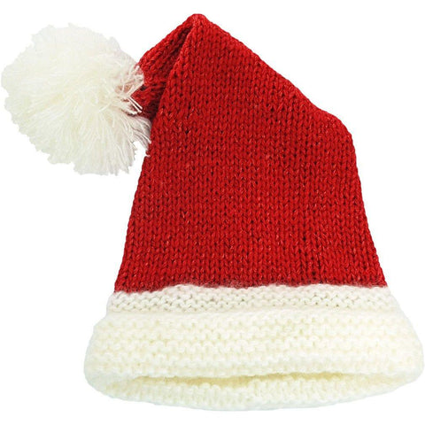 Santa Red Sparkle Stocking Hat - Huggalugs-Beanie Hats