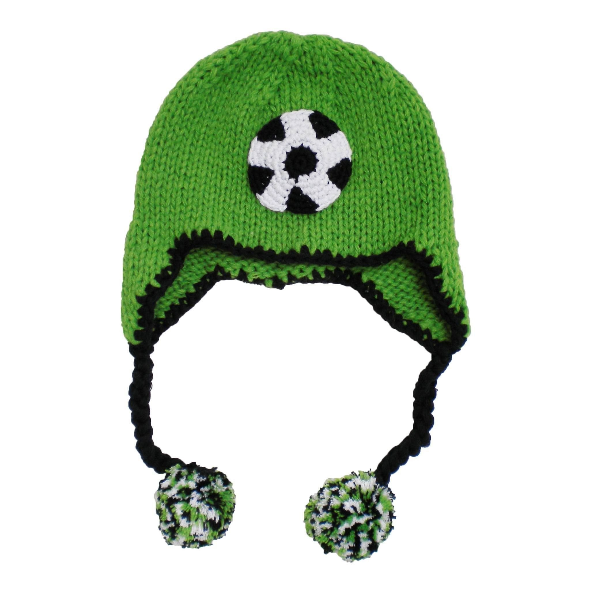f7872602febbc0 Soccer Beanie Hat   Cotton Beanies for Babies   Huggalugs