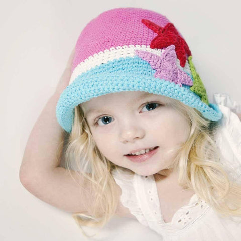 Splash Girls Sunhat - Huggalugs-Beanie Hats