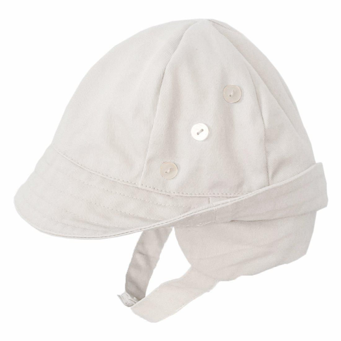 Tyrolean White UPF 50+ Hat with Chinstrap - Huggalugs-Sunhat