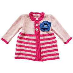 Kissy Pink Ziggy Sweater
