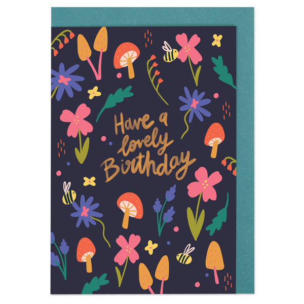 Have a lovely Birthday Card