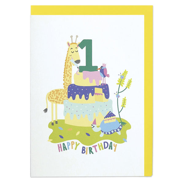 Happy Birthday - Age 1